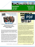 2011 Winter Newsletter - Keith Carson - Alameda County District 5