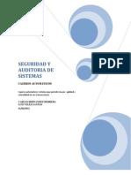 Seguridad y Auditoria de Sistemas