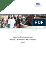 Pndl Manuel de Maitrise d Ouvrage Locale 2 Execution Des Investissements 2012