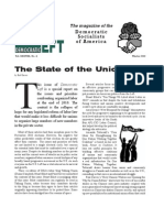 Democratic Socialists of American the State of the Unions Winter 2011