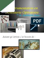 L'Instrumentation en Dentisterie Opératoire