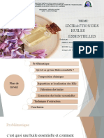 383719784 Diapo Extraction Des Huiles Essentielles Memoire