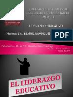 liderazgoeducativo-bety-110327202652-phpapp01