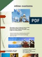 Presentación1 costumbres de argentina