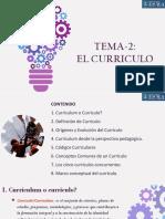 TEMA-2_EL CURRICULO