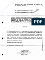 Modelo - apelação contra indeferimento de prestação de contas