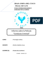 PAREDES DIAZ JOSE MORONI Informe de la Pelicula