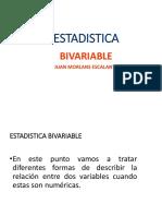 Clase Nº 8 - Estadística Bivariable