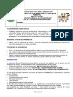 Guía 1 Ciencias 7 Estructura de la Materia 2021