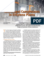 Centrifugal Compressors in Ethylene Plants