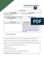 Ficha de Analisis de La Primera Lectura Unidad 2