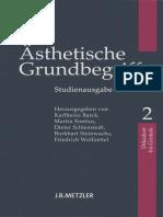 Karlheinz Barck Asthetische Grundbegriffe 2