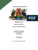 Government of Grenada Prospectus
