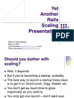 Scaling Rails Presentation (From Scribd Launch)