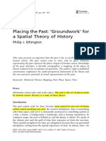 Ethington Placing the Past- Spatial Theory of History