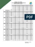 Jadwal Pelajaran 2020-2021