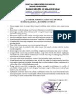 Aturan Tata Tertib Sekolah Covid-19