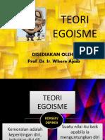 TEORI EGOISME