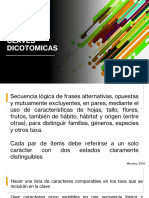 Claves Dicotomicas