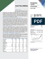 20200219 Korean Investment & Sekuritas MDKA - Gold Opens All Locks