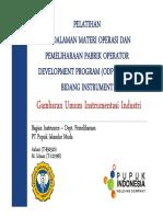 Presentasi pendalaman alat instrument_ODP PT PIM_0_general