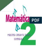 Cuadernillo Matematicas2-trime1