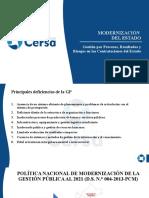 MODULO 1 Modernización Del Estado, Sistemas Administrativos, Gestión x Procesos, Resultados y Riesgos