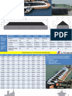Barge and Vessel Principle Dimensions