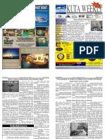 "Kuta Weekly-Edition 222 ""Bali""s Premier Weekly Newspaper"""