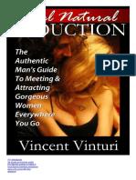 Vicent Vinturi - Real Natural Seduction Traduzido PT BR