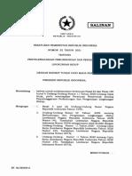 1. Salinan PP Nomor 22 Tahun 2021