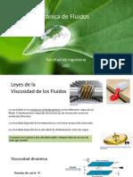2- Viscocidad y tipos de fluidos