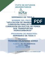 PROYECTO DE TESIS_INHIBIDORES DE CORROSIÓN SEM TESIS II revision 3