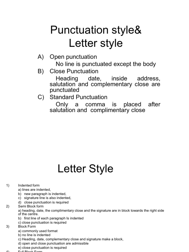 Salutation punctuation   templates characterworld co Pinterest