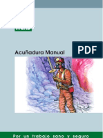 acuñadura manual