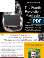 Fourth Revolution Manifesto part8- Your choice. And why YOU are important for the Fourth Revolution