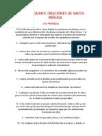 LAS QUINCE ORACIONES DE SANTA BRÍGIDA.pdf