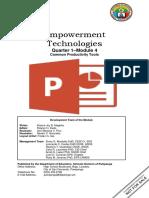 EmpTech - Q1_Mod4_Common Productivity Tools