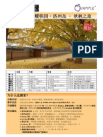 8D6N KOREA SPARKLING - HRS - CHI (Autumn) - 2010