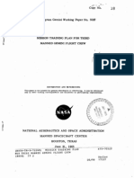 Mission Training Plan for Third Manned Gemini Flight Crew