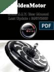 GoldenMotor Pro-Kit User Guide