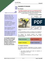Notes Du Cours -Element B - Dangers Et Risques French