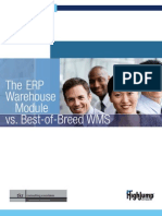 ERP vs. Best-of-Breed WMS