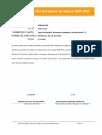 CETis78 Plan de Mejora 2009_2010