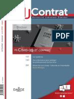 Dalloz - AJ Contrat - 2020, N° 04