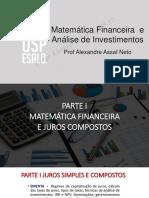 Matematica Financeira e Analise de Investimento