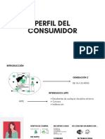 Perfil del consumidor