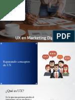 UX en Marketing Digital