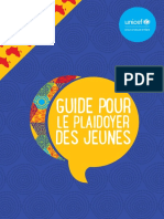 Youth Advocacy Guide (FRENCH)