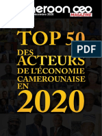 Cameroonceo-magazine- n 0013 Top50 Decembre 2020-1